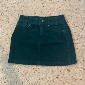 Pacsun Vintage Velvet Skirt